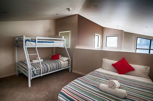 Blues Air 1 Loft Bedroom