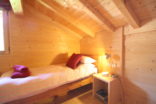 Chalet Marianne: top floor twin room A