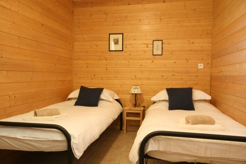 Chalet Quatre Saisons: ground floor twin