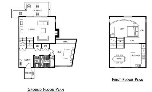 Oberdere 3 Floor Plan