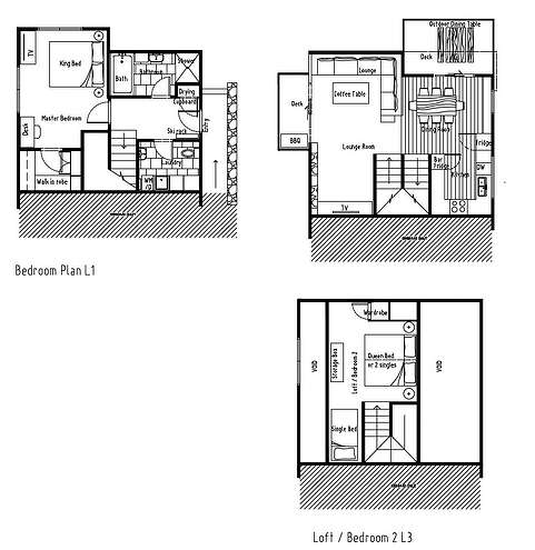 Ramshead Creek 3  Floor Plan