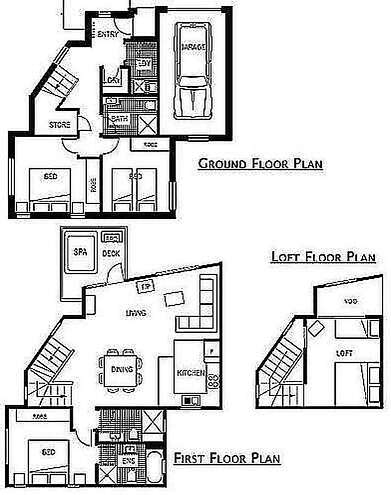 Snowstream 4 Floor Plan