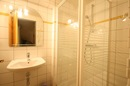 Chez Rose: lower floor shower room