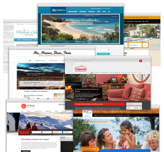 Holiday Rental websites