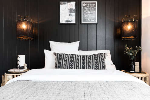 Dreamy tribal chic bedroom (Queen)