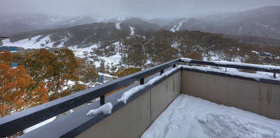 Thredbo Elevation 1 Balcony