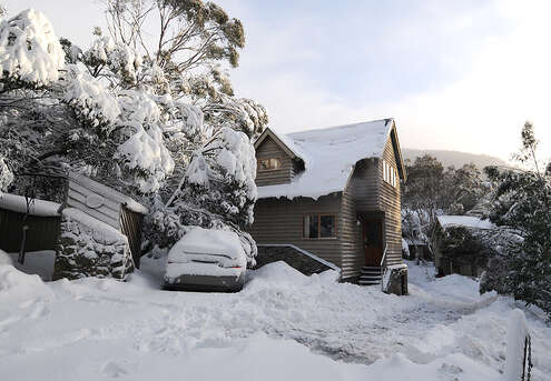 Granite Peaks 1 chalet thredbo July 2014
