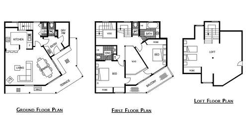 Floor Plan for  Milkwood