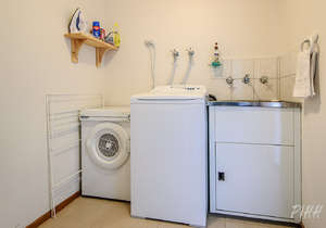 Fully equipped laundry...