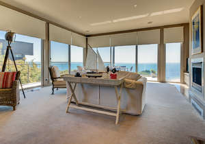 Main living area with wrap-around views......