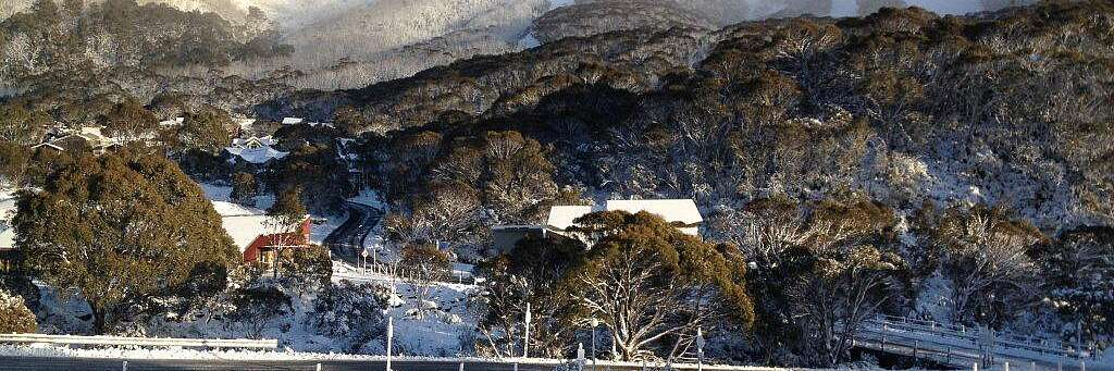 Village Green in Snow taken from Aspect 2A