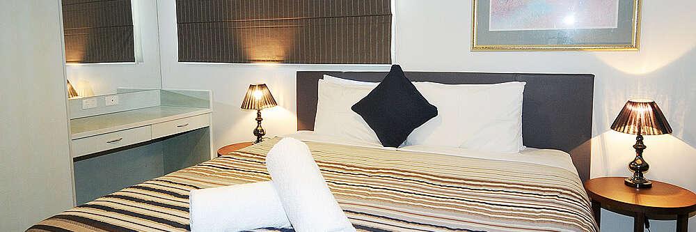 Master Bedroom at Aspect 2A