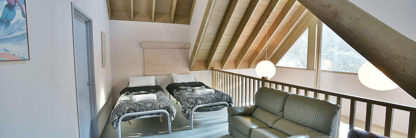Seldom Seen - Loft Bedroom