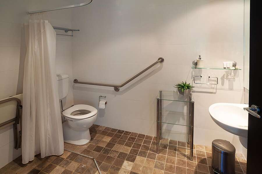 Powder 2a - Wheelchair Accessible  Bathroom