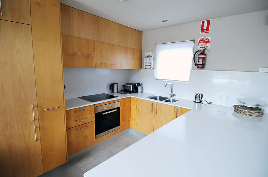 The modern Kitchen at Snowstream 4