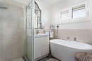 main bathroom with bath