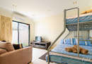 Third bedroom/second living area...