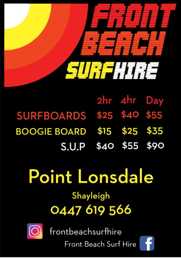 FRONT BEACH SURF HIRE
