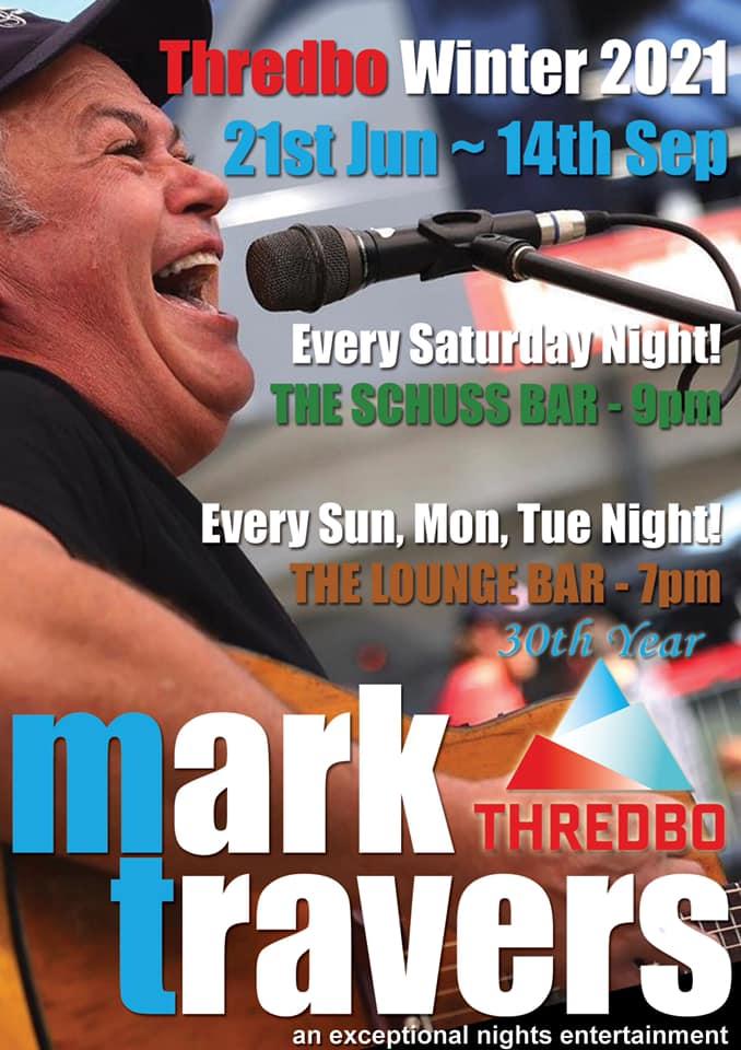 30 years of Mark Travers in Thredbo