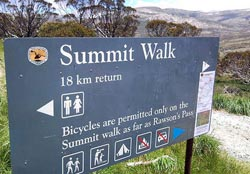 Kosciuszko Summit Guided Walk