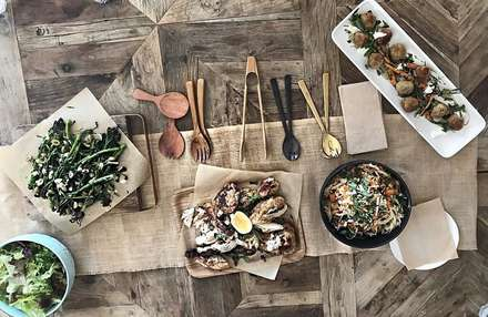 Feasting Style Dinner - $65 Per Person