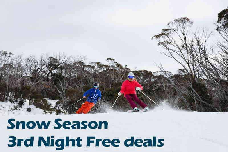 Spring Snow 3rd Night Free Deal. 3 Nights from $183 per person