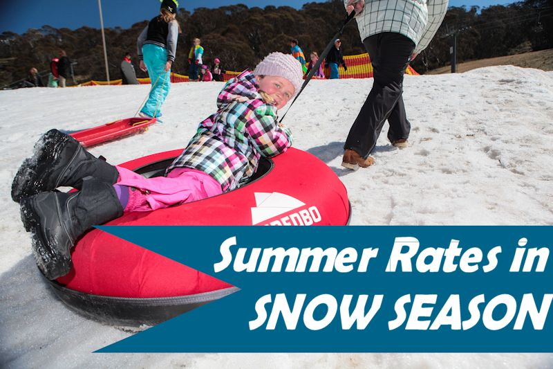 September Summer Rates in Snow Season
