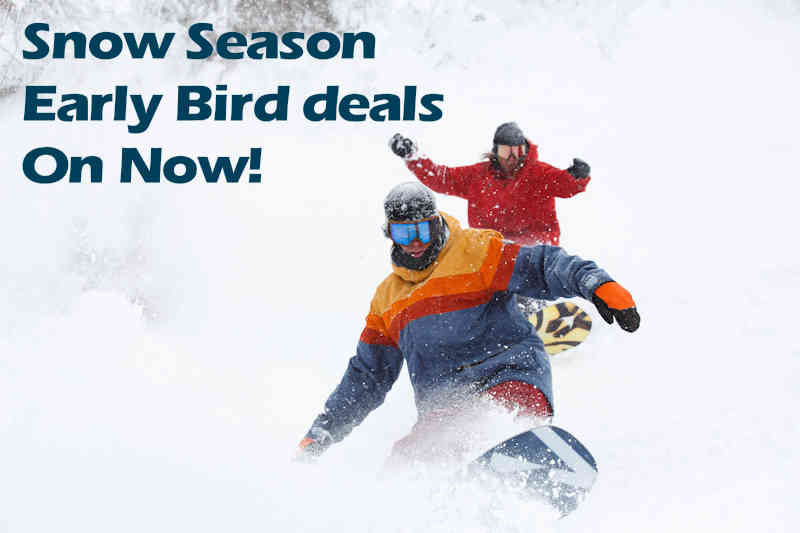 September 8th Early Bird Special 5 nights from $348 per person
