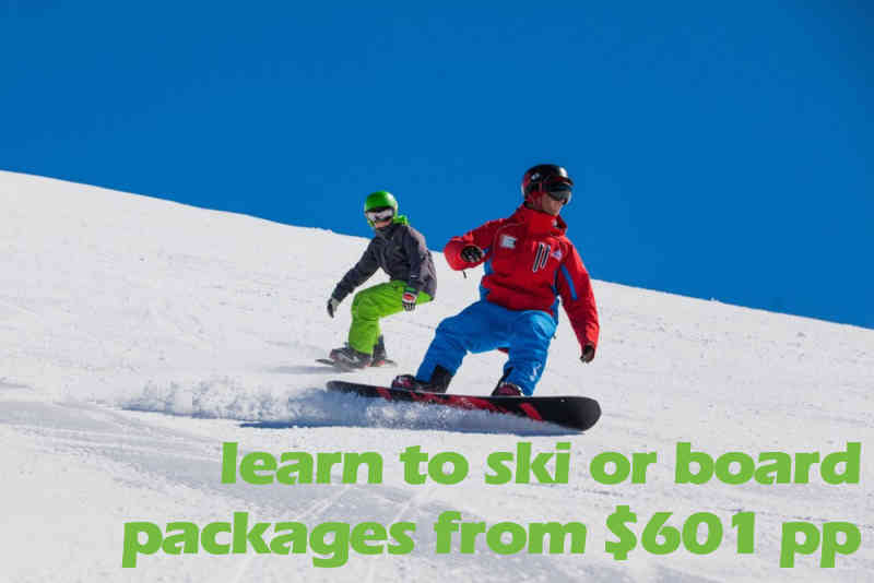 Learn To Ride Beginners Pack From *$601