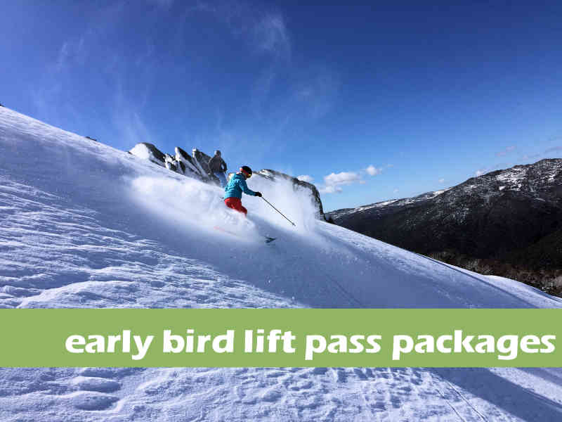 2019 Early Bird Lift Pass Packages  Peak