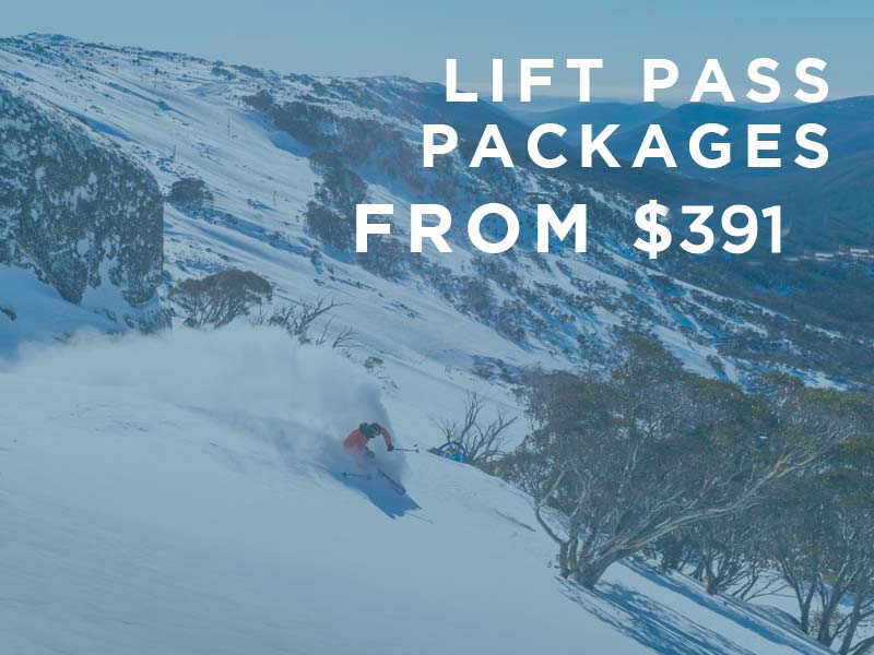 2020 Lift Pass Packages from $391 per person