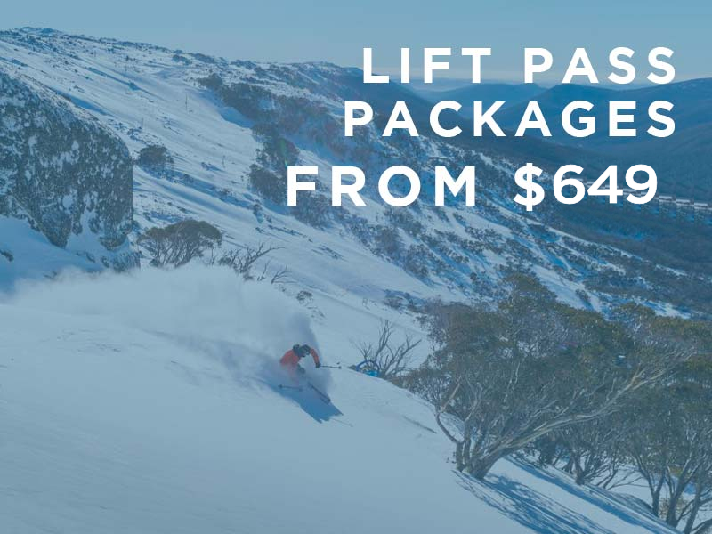 2020 Lift Pass Packages from $649 per person