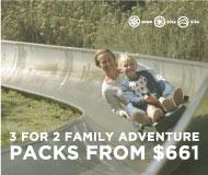 Summer Season Family Adventure Packs